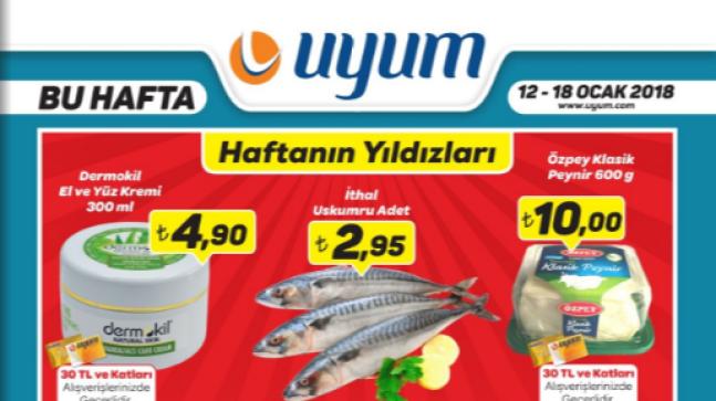 Uyum Market 12 Ocak 18 Ocak 2018 Kataloğu