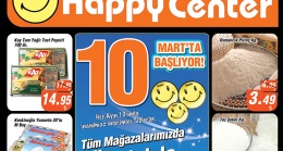 Happy Center 10 Mart – 31 Mart 2018 İndirim Bülteni