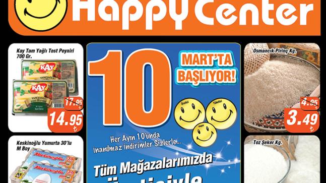 Happy Center 10 Mart – 31 Mart 2018 İndirim Bülteni