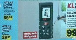 A101 24 Mayıs 2018 KLPro KLLZM40 Lazermetre ve Attlas Ürünleri İncelemesi