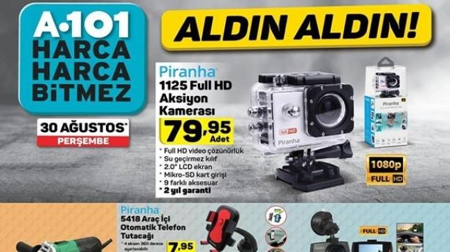 A101 30 Ağustos 2018 Aktüel Kataloğu