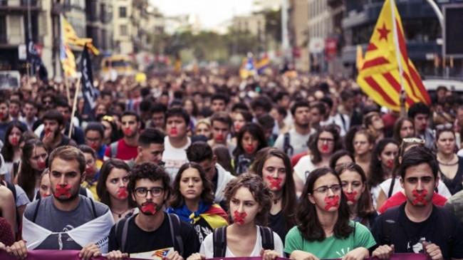 Katalonya'da Olaylar Dinmiyor!