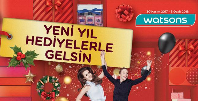 Watsons 30 Kasım 2017 - 3 Ocak 2018 Kataloğu