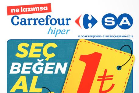 CarrefourSA 18 Ocak 2018 – 31 Ocak 2018 Kataloğu