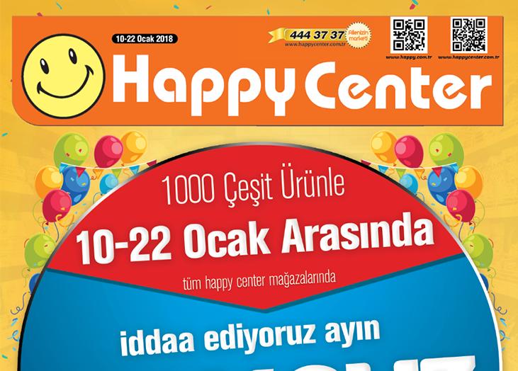 Happy Center 10-22 Ocak 2018 İndirim katalogu