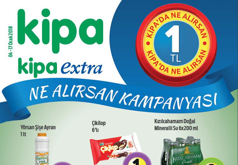 Kipa Hipermarket 4 Ocak 2018 – 017 Ocak 2018 Aktüel Kataloğu
