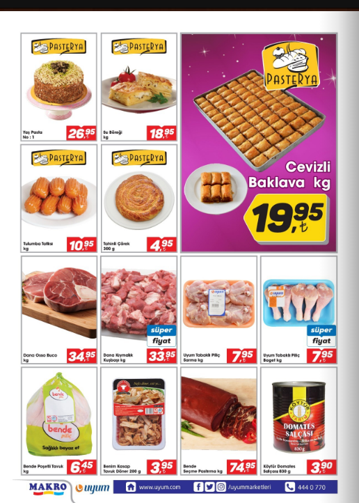 Uyum Market 2 Şubat 8 Şubat 2018 Kataloğu2