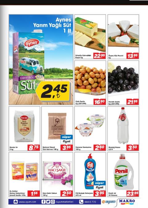 Uyum Market 2 Şubat 8 Şubat 2018 Kataloğu3