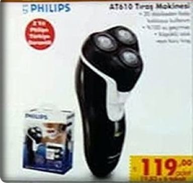 Şok Philips AT610 Tıraş Makinesi