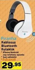 A101 5 Nisan Piranha Kablosuz Bluetooth kulaklık