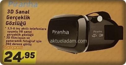 A101 Piranha Sanal Gerçeklik Gözlüğü