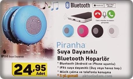 A101 Piranha Suya Dayanıklı Bluetooth Hoparlör