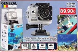 Hakmar General Home Aksiyon Kamerası