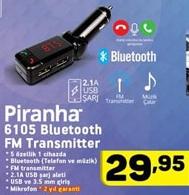 Piranha Bluetooth Fm Transmitter