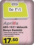 A101 3 Mayıs 2018 Aprilla Abs Mekanik Banyo Baskülü