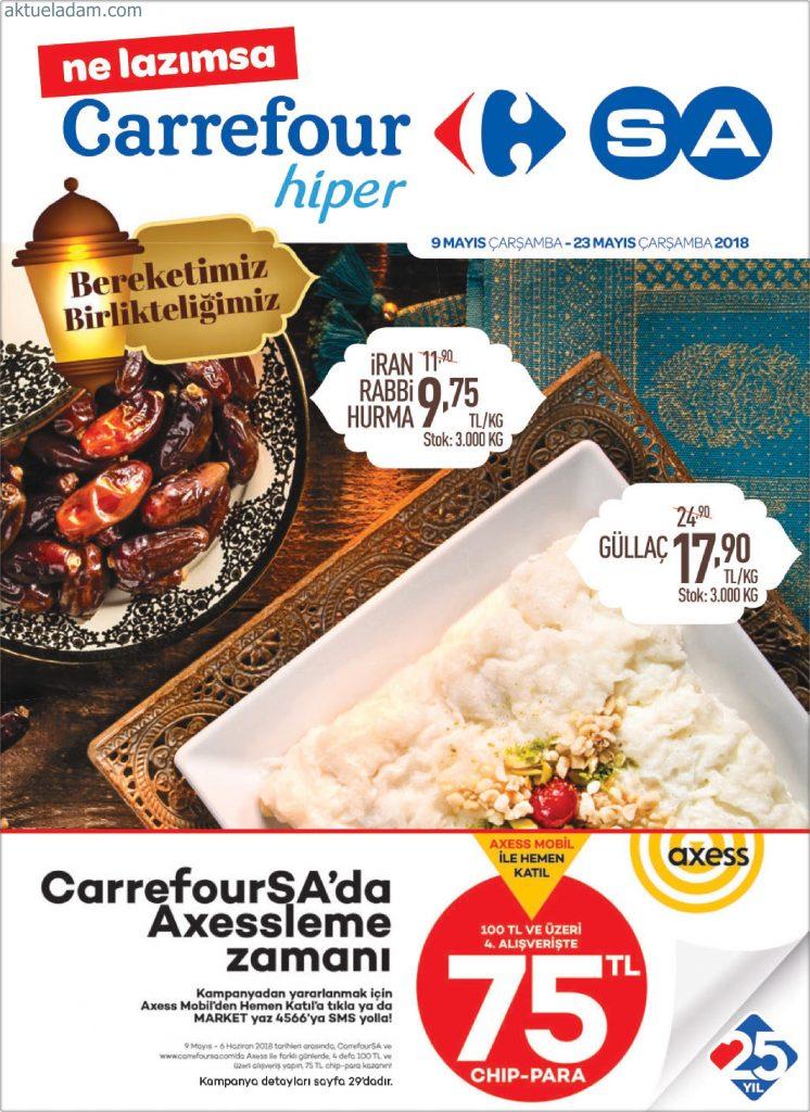 CarrefourSA 2 Mayıs 23 Mayıs 2018 Kataloğu 1