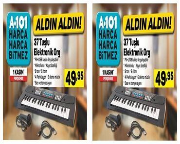 A101 1 Kasım 37 Tuşlu Elektronik Org İncelemesi