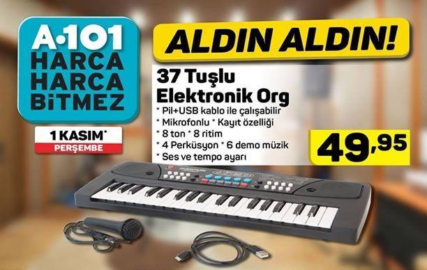 A101 1 Kasım 37 Tuşlu Elektronik Org