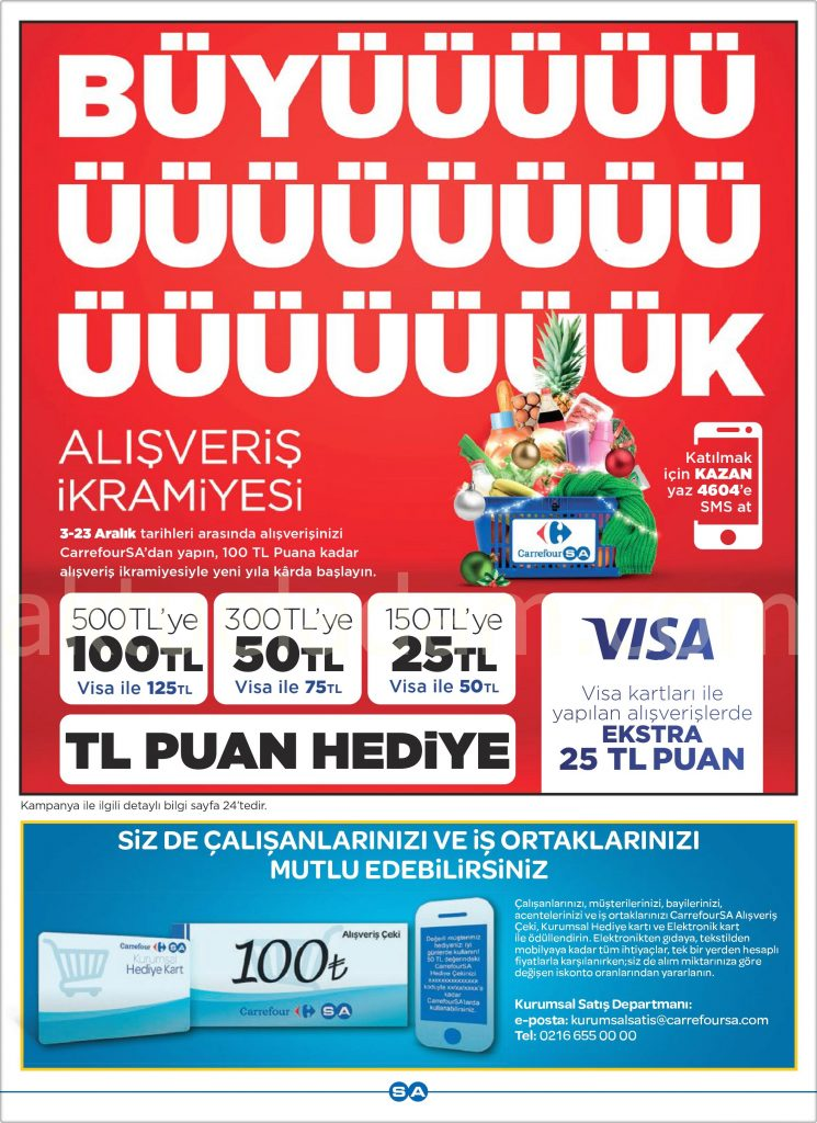 Carrefour 13 Aralık 2018 - 3 Ocak 2018 Kataloğu 40