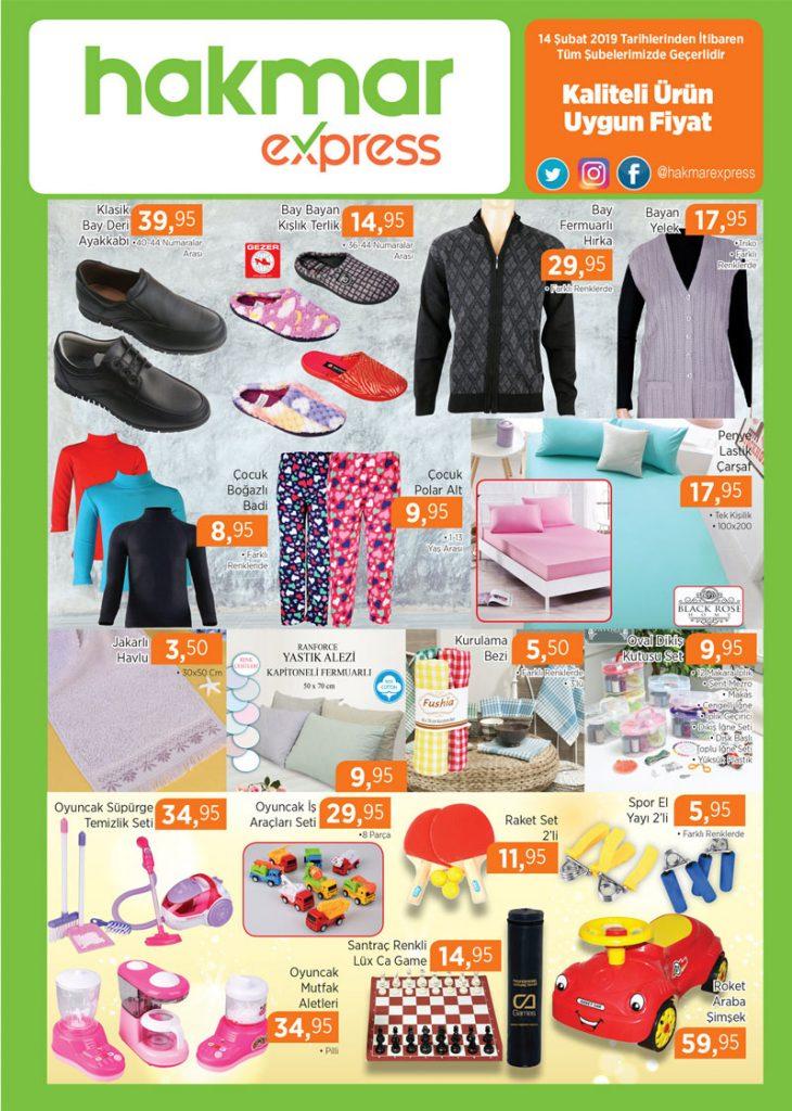 hakmar 14 şubat 2019 giyim ürünleri