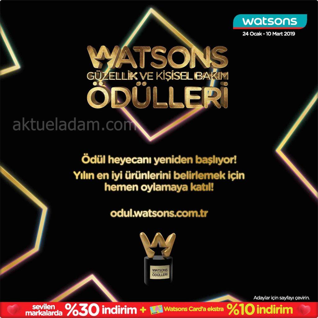 Watsons Şubat 2019 Kataloğu – Aktuel Adam