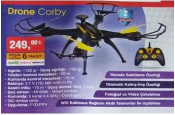 Bim 19 Nisan 2019 Drone Corby İncelemesi