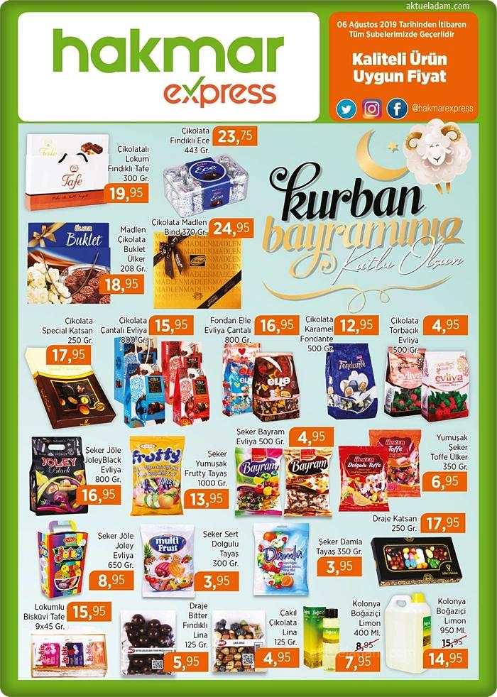 hakmar 8 ağustos 2019 bayram çikolataları