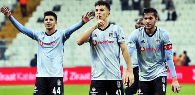 Beşiktaş'ın Genç Oyuncusu İlk Maçta Golünü Attı!