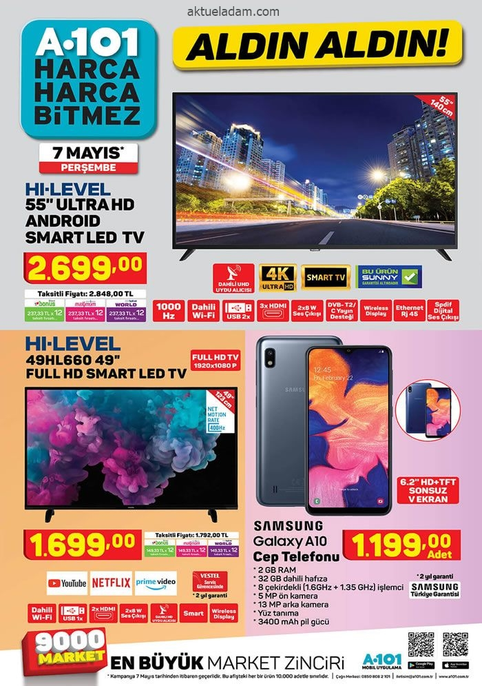 a101 7 mayıs 2020 hi level tv
